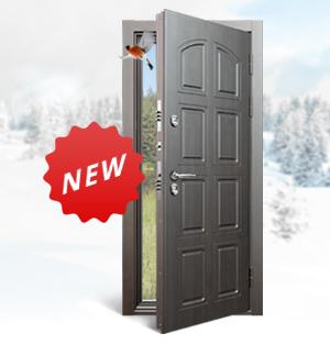 НОВИНКА! Специально для частных домов - «Snegir» от Torex. Дверь, которая не боится холодов!