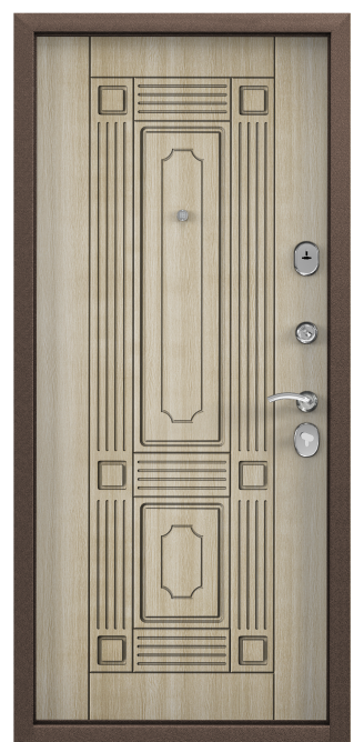DELTA 07, Скандинавская панель с ПВХ покрытием, СК-4, Венге светлое